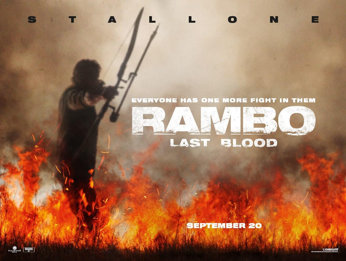 film rambo last blood Rambo with Knife