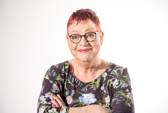 Jo Brand (for the Donna Louise Hospice)
