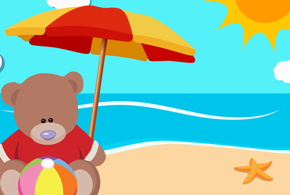 Freddy The Teddy's Summer Holiday