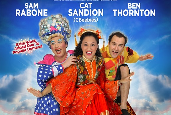 Children's audition information  released for 2017 pantomime Aladdin!