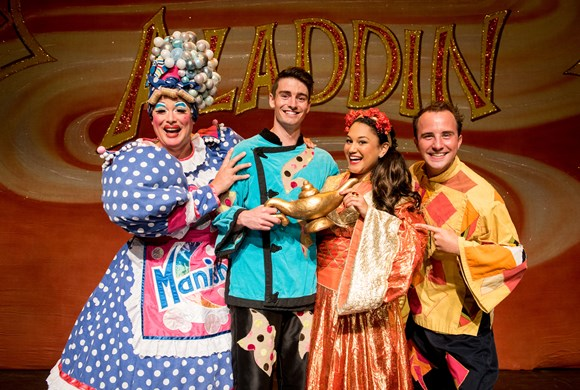 Aladdin review from LICHFIELD MERCURY