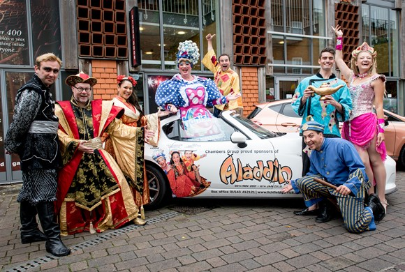 Aladdin 'takes off' in spectacular style!