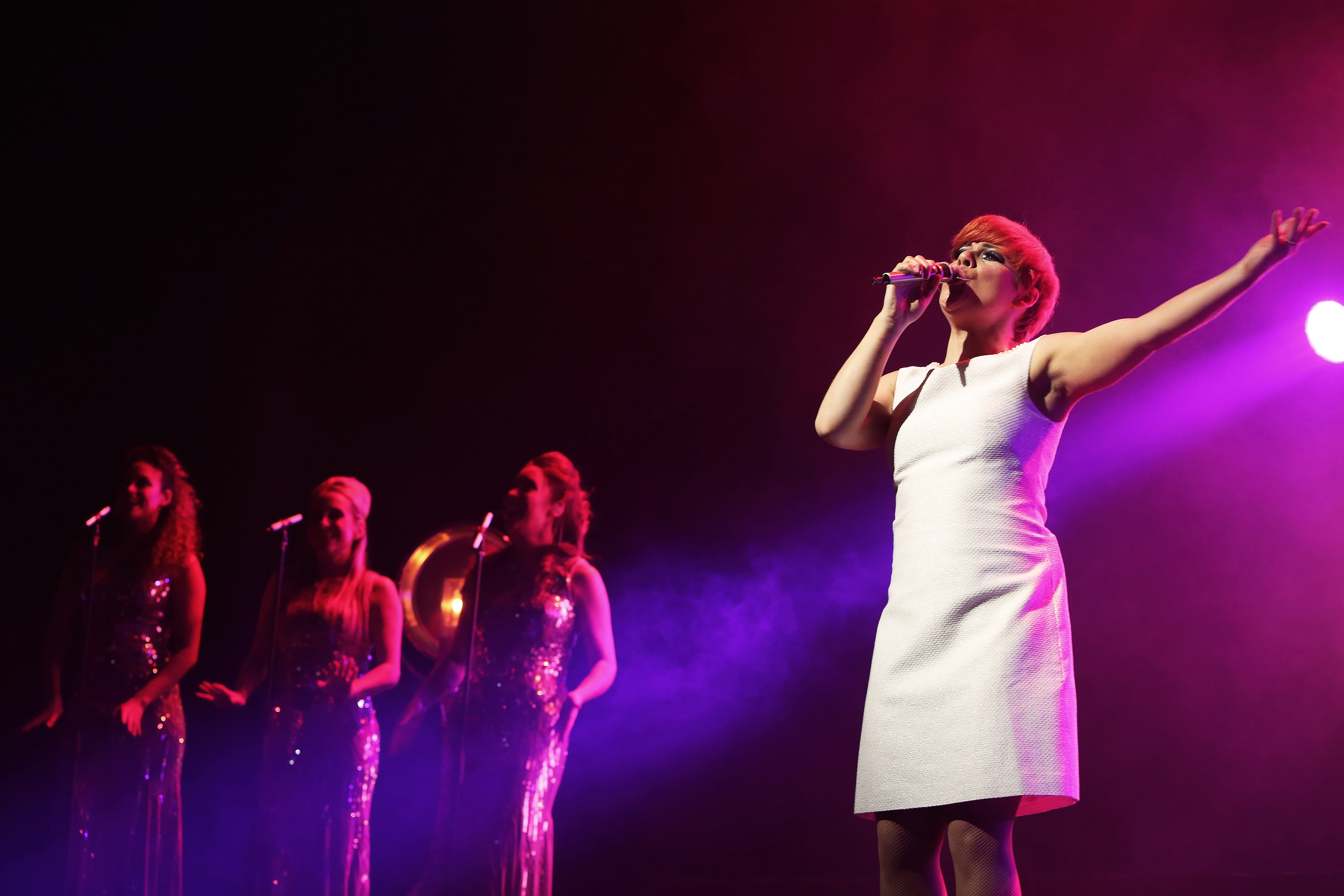 Cilla and the Shades of the 60s live photo by Rhian Cox (5))