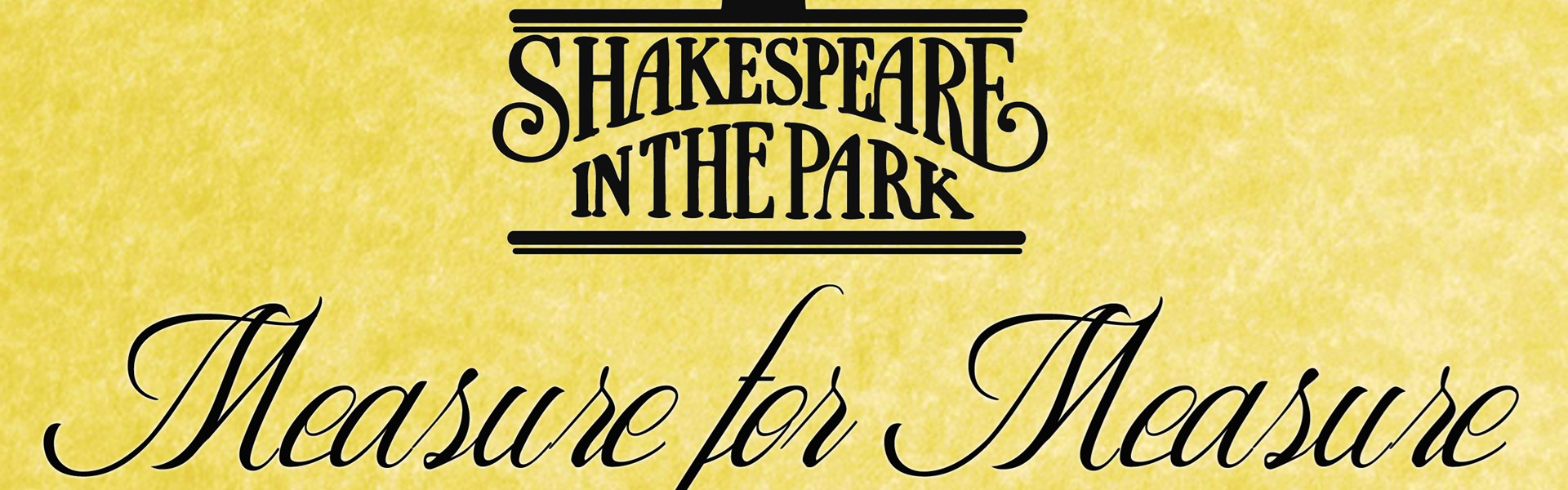 Shakespeare In The Park: Measure For Measure