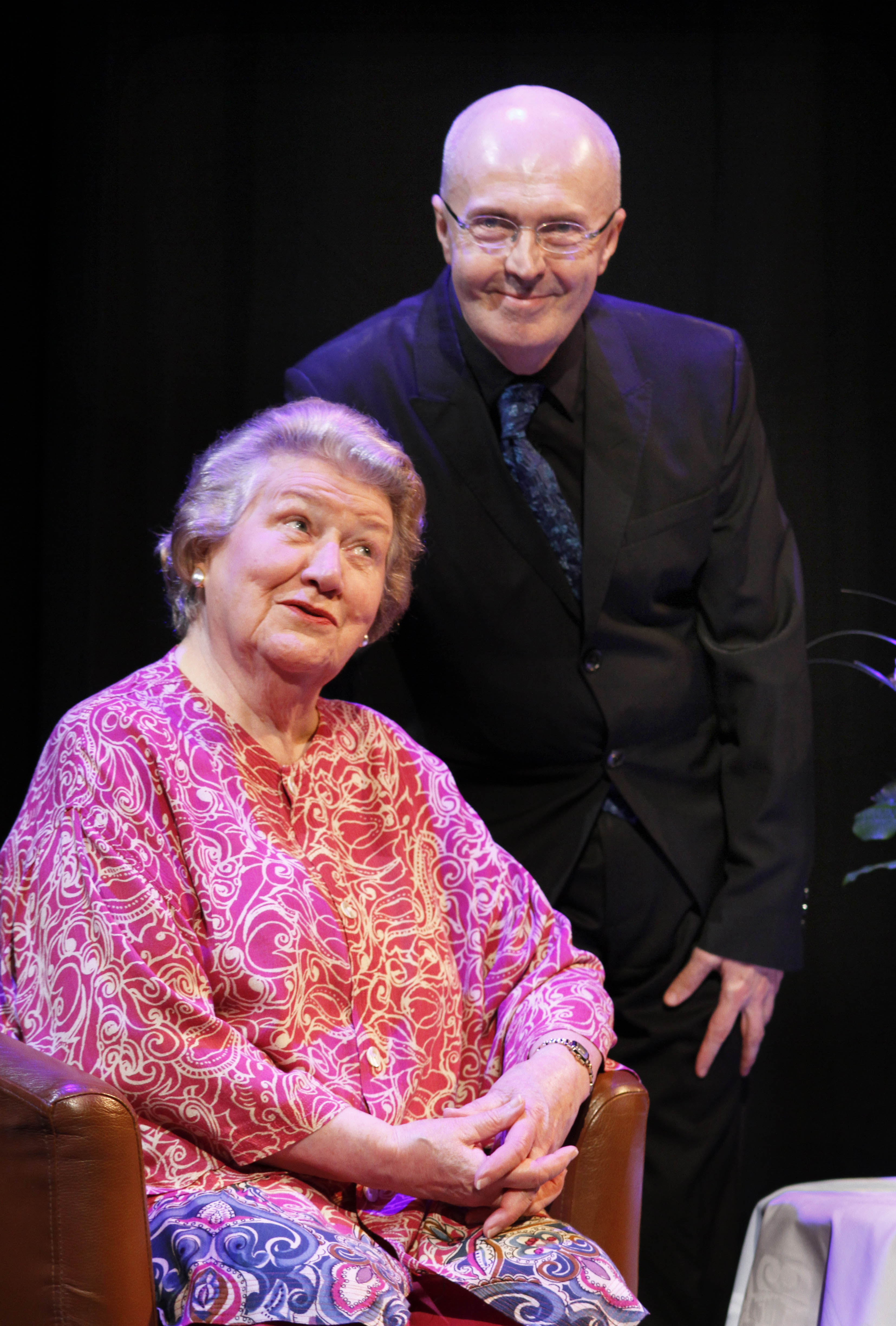 Patricia Routledge and Edward Seckerson 2