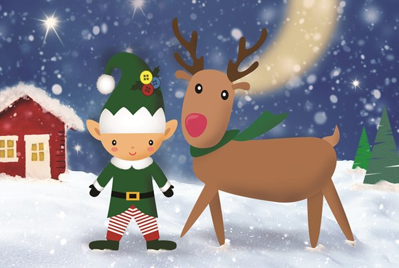 Elf & Reindeer's Christmas Cracker