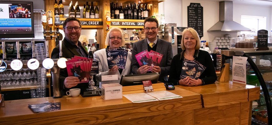 Richard Winterton Auctioneers and Lichfield Garrick Theatre announce partnership